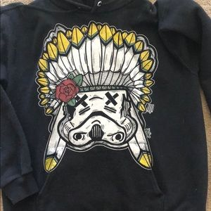 Jackets & Blazers - Storm Trooper Feather Hoodie